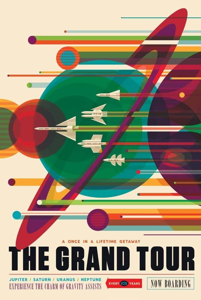 NASA Grand Tour - Design Inspiration