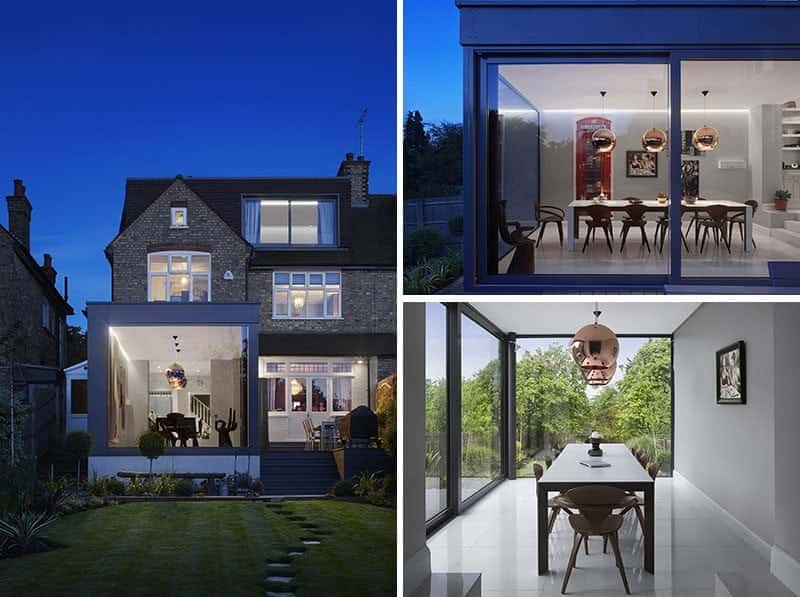 Inspiration – Domestic glass extension