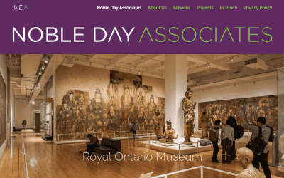 New startup website for Noble Day Associates