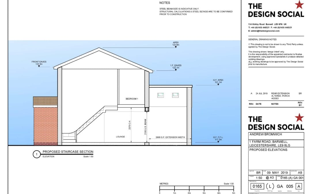 Andy Bromwich, Barwell – Rear extension planning app