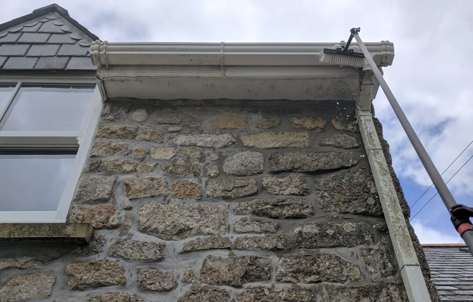 uPVC Gutter & Fascia Cleaning Ashton, Cornwall