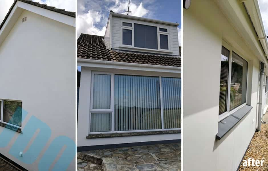 Render & uPVC Soft Washing Truro, Cornwall