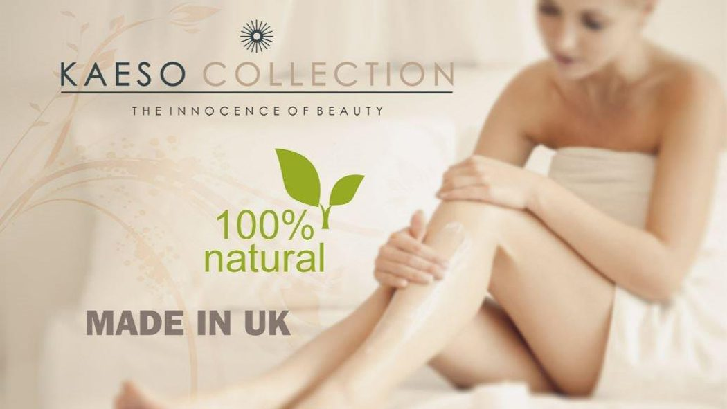 Kaeso facials products are 100% natural for your skin